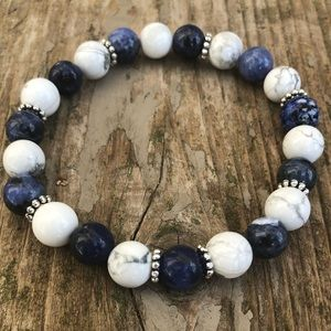 Sodalite and Howlite for Calm